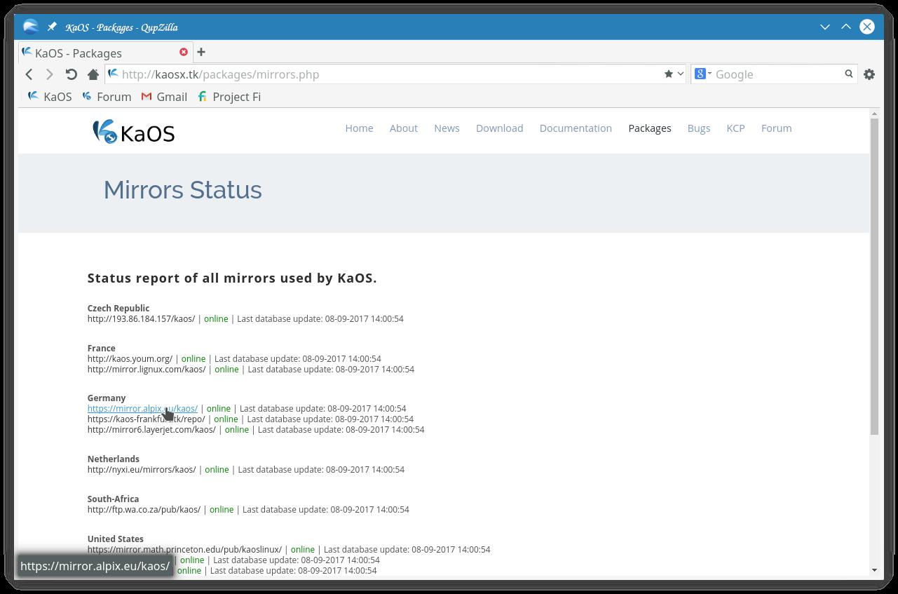 Installing KaOS Linux - Linuxsecrets